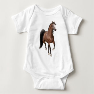 Trotting Arabian Horse Infant Creeper