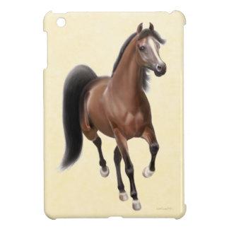 Trotting Bay Arabian Horse iPad Mini Case