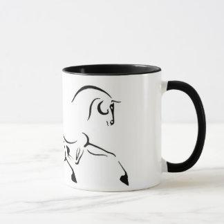 Trotting Horse Mug