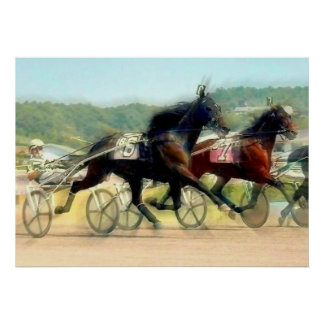 Trotting Power Poster