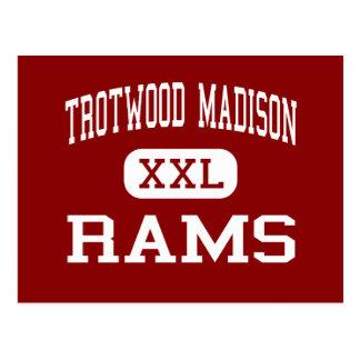 Trotwood Madison - Rams - Junior - Trotwood Ohio Postcard