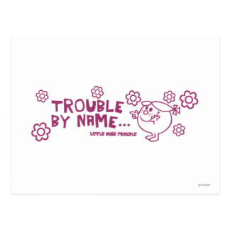 Trouble By Name Postcard