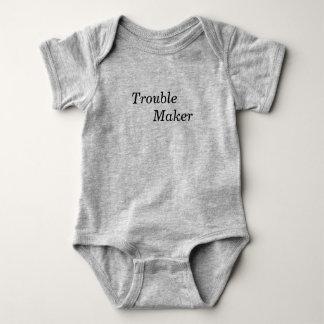 Trouble Maker Baby Bodysuit