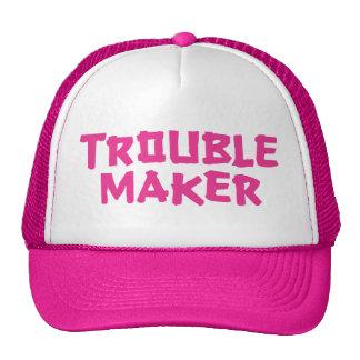Trouble Maker Trucker Hat