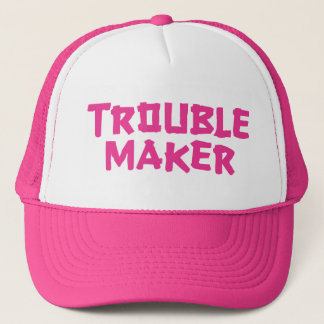 Trouble Maker Trucker Hat