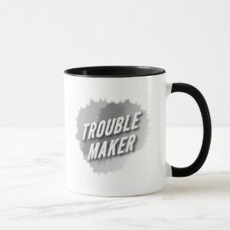 Trouble Maker With Paint Splash Mug