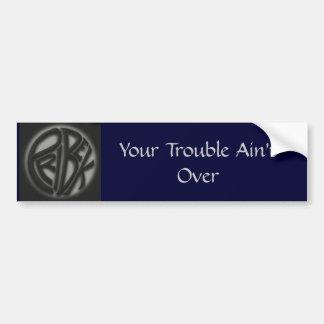 Trouble Sticker