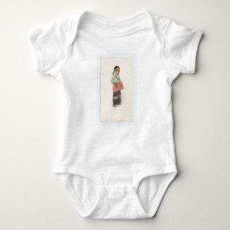 Troubled Boy Baby Bodysuit