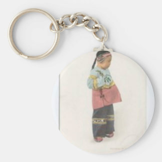 Troubled Boy Keychain