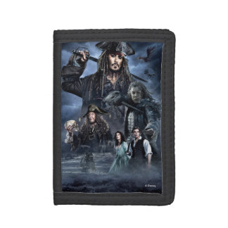 Troubled Waters, Troubled Souls Tri-fold Wallets