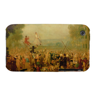 Troupe of Actors Performing on a Tightrope iPhone 3 Case-Mate Cases