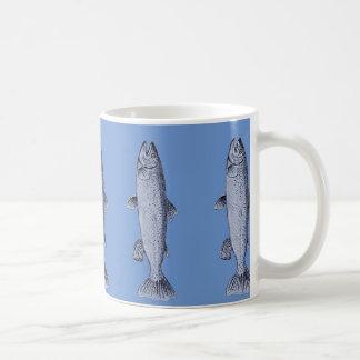 Trout Art on Coffee/Tea Mug
