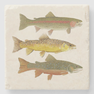Trout Beauties Coaster