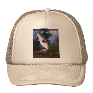 Trout Bedding Hat