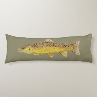 Trout Body Pillow