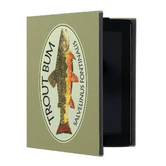 Trout Fishing Bum iPad Folio Case