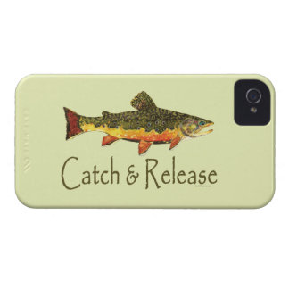 Trout Fishing Catch and Release iPhone 4 Case