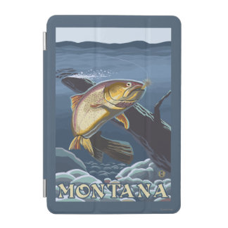 Trout Fishing Cross-Section - Montana iPad Mini Cover