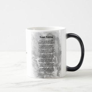 Trout Fishing Poem Magic Mug