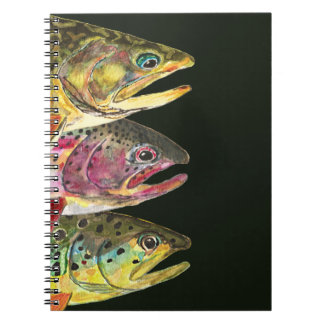Trout Fly Fishermen Notebooks
