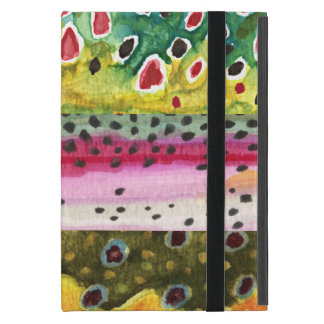 Trout Fly Fishing iPad Mini Cover