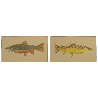 Trout King Size Pillow Cases Pillowcase