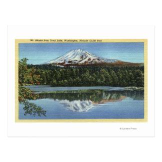 Trout Lake, Washington Postcard