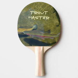 Trout Master gifts Ping pong paddles Personalized