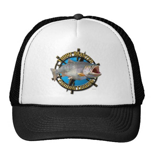 Trout Master Trucker Hats