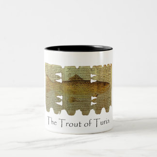 Trout of Turin mug