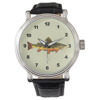 Trout Painting Watch