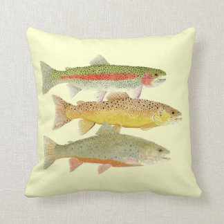 Trout Pillow