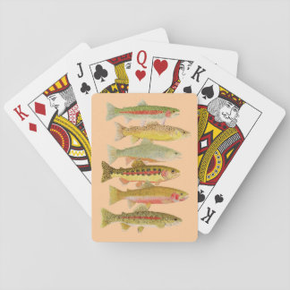 Trout Playing Cards
