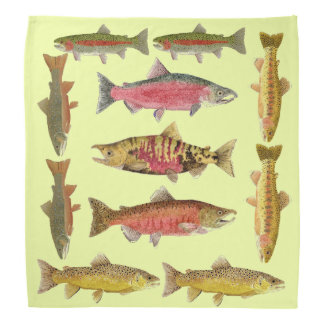 Trout & Salmon Bandana