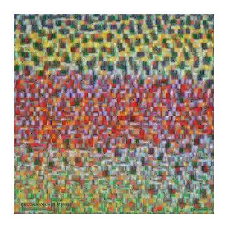Trout Skin Montage - Rainbow Trout Canvas Print