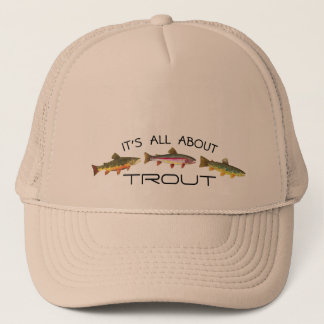 Trout Skins for Fly Fishing Trucker Hat
