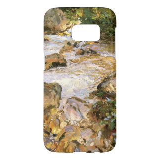 Trout Stream in the Tyrol by John Sargent Samsung Galaxy S7 Case
