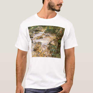 Trout Stream in the Tyrol by John Sargent T-Shirt
