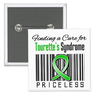 Trouvant un traitement pour le syndrome de Tourett Badges Avec Agrafe