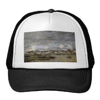 Trouville, the Port by Eugene Boudin Trucker Hat