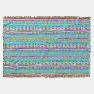 Trowblanket Fantasia Colori Throw Blanket