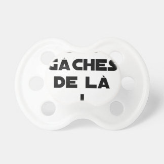 Trowels from there! - Word games - François City Baby Pacifier