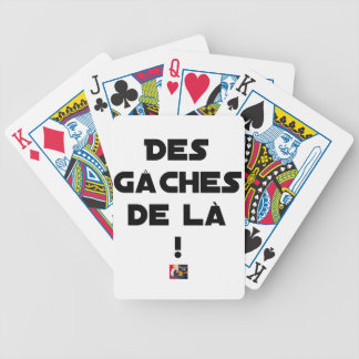 Trowels from there! - Word games - François City Bicycle Playing Cards