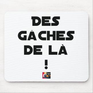 Trowels from there! - Word games - François City Mouse Pad