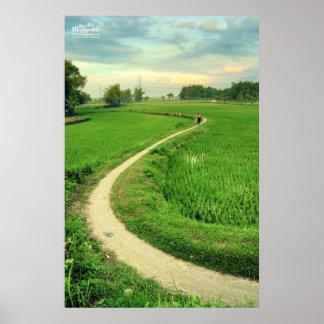 Trowulan Fields Poster