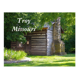 Troy 076, Troy Missouri Postcard