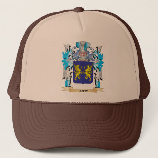 Troy Coat of Arms - Family Crest Trucker Hat