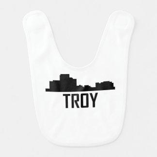 Troy Michigan City Skyline Bib