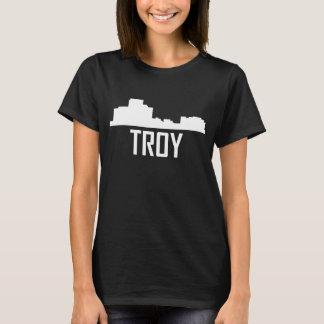 Troy Michigan City Skyline T-Shirt