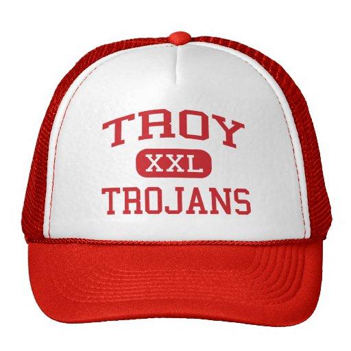 Troy - Trojans - Junior High School - Troy Ohio Trucker Hats